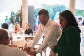 Pierre-Yves Lanneau Saint Léger (Maison Moderne) et Ana Wiscour-Conter (Maison Moderne) ((Photo: Simon Verjus/Maison Moderne))