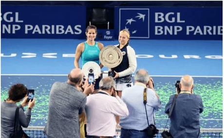 C'est la joueuse lettone, Jelena Ostapenko, qui avait remporté l'édition 2019 du tournoi. (Photo: BGL BNP Paribas open)
