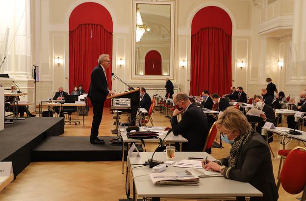Les députés sont longuement revenus sur le dossier OpenLux à la Chambre ce mardi. (Photo: Chambre des députés/Flickr)