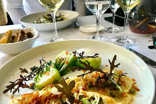 Lemenu déjeuner hebdomadaire est à 28€. (Photo: DR)