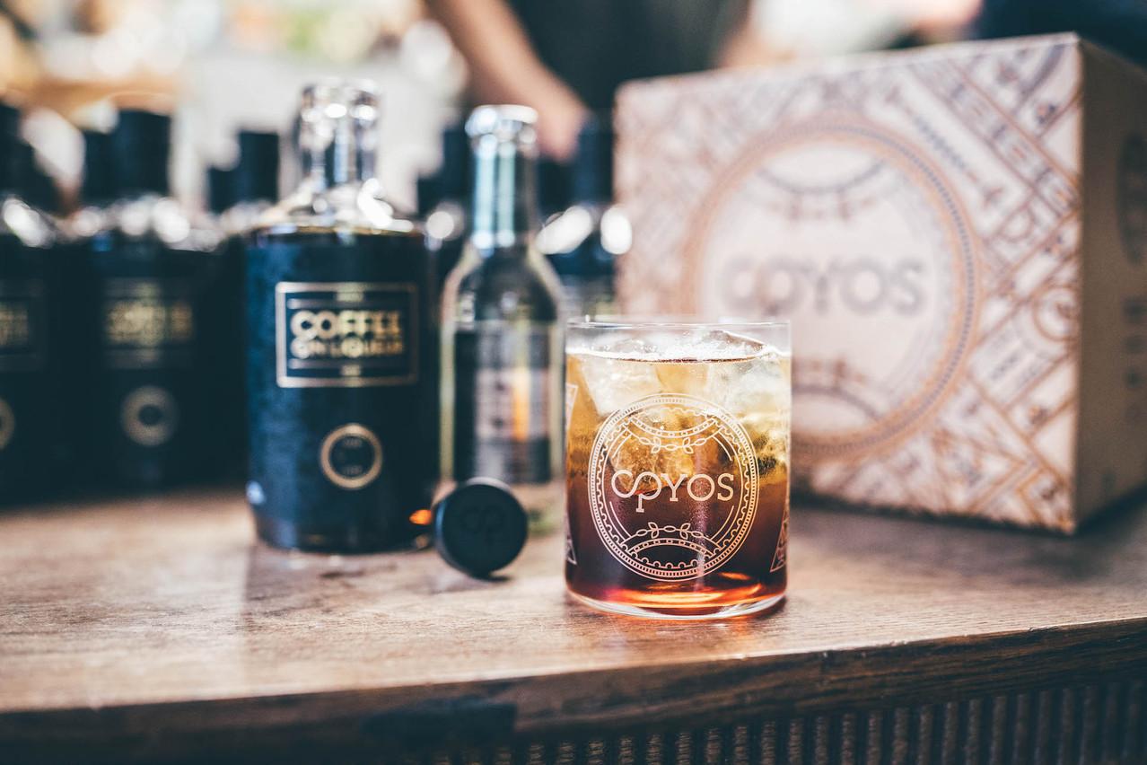 Avec la grande tendance du café dans les cocktails, Opyos voit juste en l'associant à son gin luxembourgeois. (Photo: Opyos)