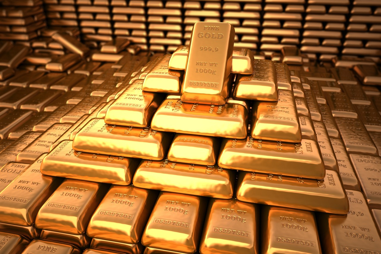 L'once d'or n'avait jamais atteint de tels niveaux. (Photo: Shutterstock)