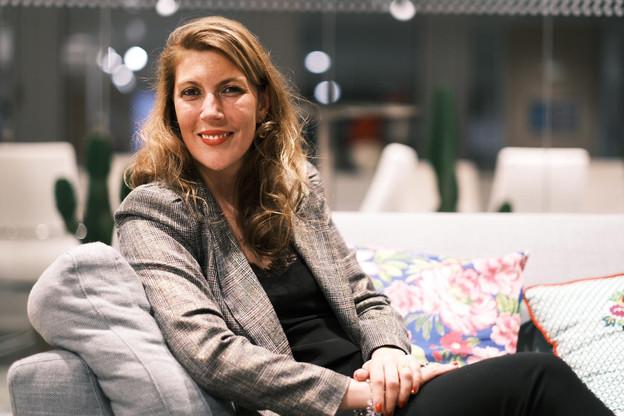 Oriane Schoonbroodt est connue pour avoir créé la start-up Label R en 2017. (Photo:  Philippe Lanciers )