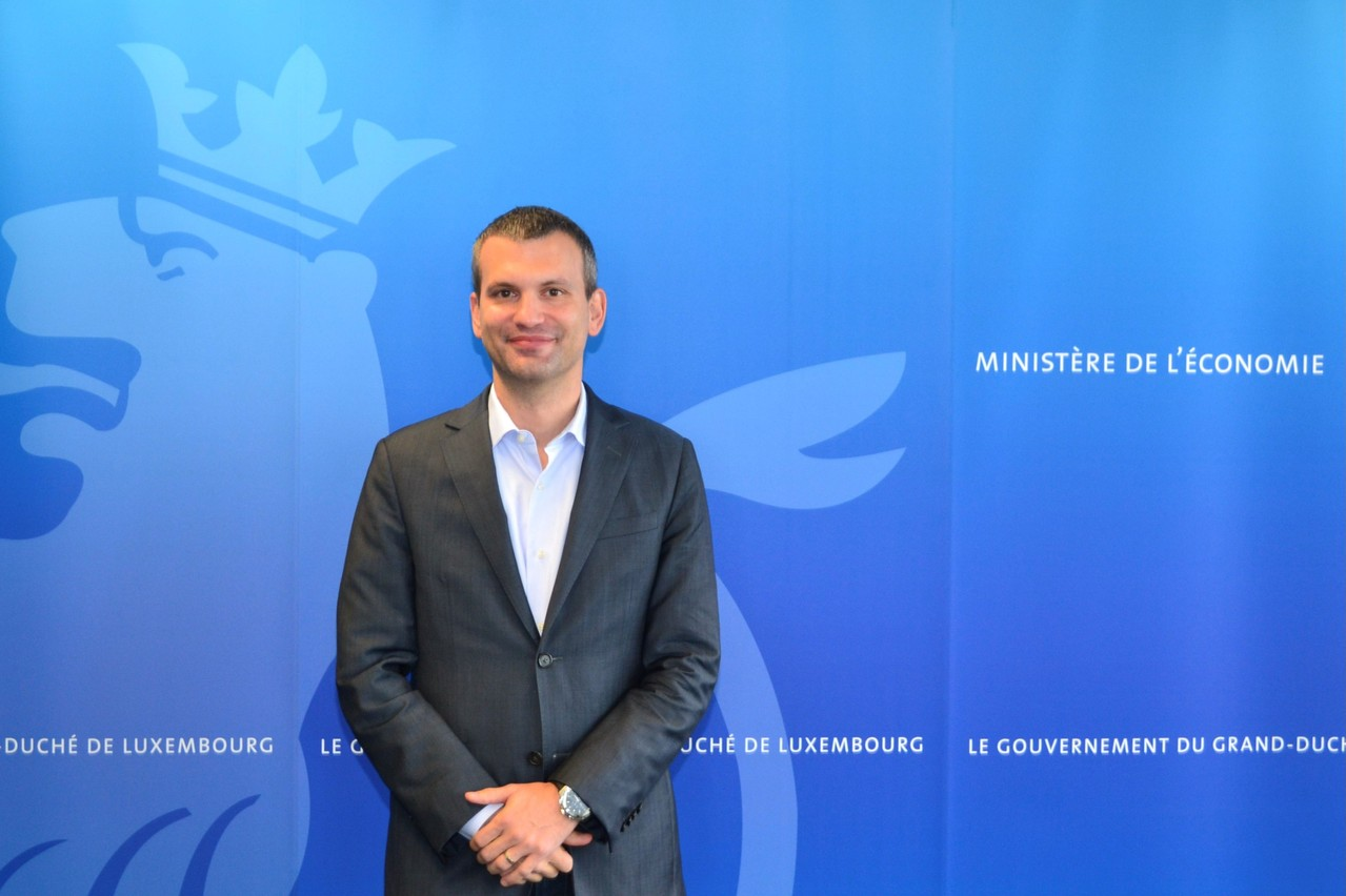 André Hansen, 41, has been appointed general commissioner for the Luxembourg pavilion at the 2025 World Expo in Osaka. Photo: Ministry of the economy