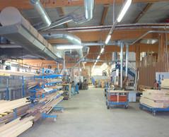 Dont 3.820m2 pour l'atelier de production. ((Photo: OST-Fenster SA))