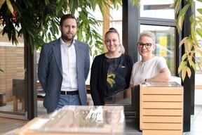 Trois des quatre enfants travaillent dans l'entreprise, reprise en 2018 par Lynn et Sven Hilger. ((Photo: Matic Zorman/Maison Moderne))