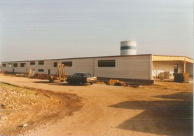 Lynn and Sven Hilger's father took over the company in 1989 and started building the new site in Potaschberg.  OST-Fenster SA