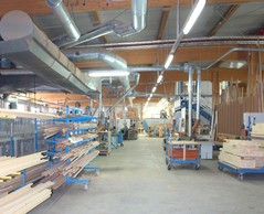 Including 3,820m2 for the production workshop. OST-Fenster SA