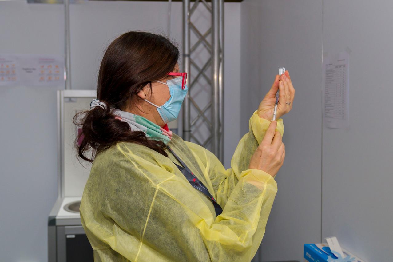 En Rhénanie-Palatinat, plus de 107.000 personnes avaient été vaccinées en milieu de semaine. (Photo : SIP/Emmanuel Claude)