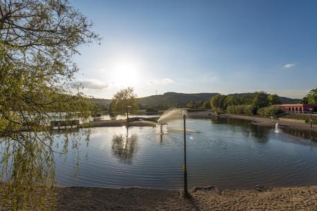 Des étangs et une grande plage sont accessibles aux visiteurs à Remerschen. (Photo: Pulsa Pictures/Luxembourg for Tourism)