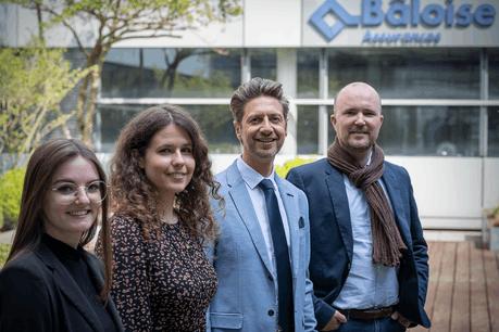 L'équipe  Partenariats de Bâloise Assurances Luxembourg Bâloise Luxembourg