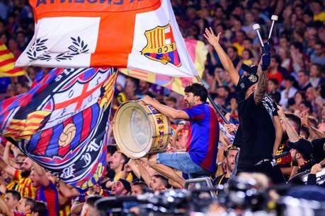 L'e-supporter club du FC Barcelone est aujourd'hui le plus «bankable». Il vaut 51millions d'euros, soit autant que les trois suivants – le PSG, le Galatasaray et l'AC Milan. (Photo: Shutterstock)