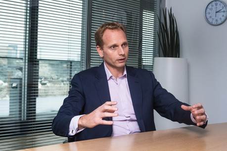 Niccolo Polli, CEO de HSBC Luxembourg, fait partie des initiateurs du forum «Leaders of Tomorrow», lancé par les chambres de commerce SweBeLux et Nobelux pour favoriser le partage de leadership entre hommes et femmes. (Photo: Nader Ghavami / Archives)