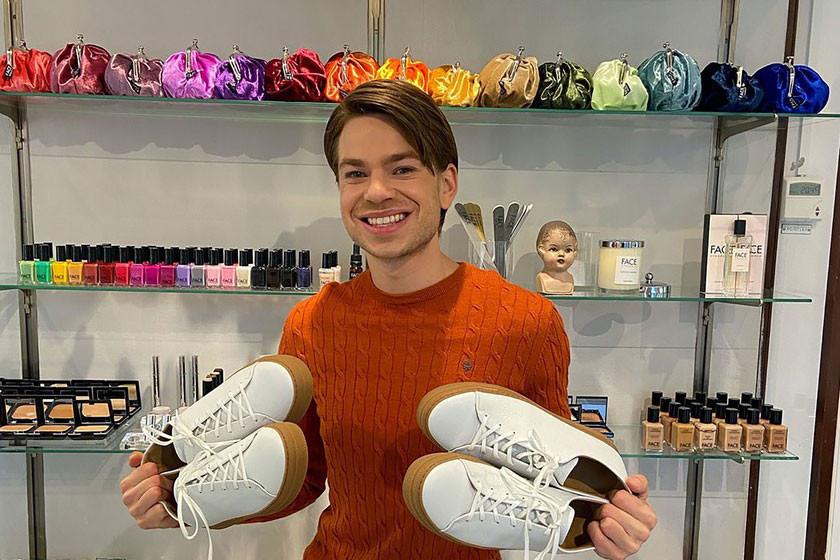 Filip Westerlund veut aller à l'encontre de la fast fashion en imaginant une plateforme d'e-commerce durable. (Photo: Delano)