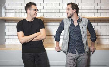 Julien Casse, CTO de kodehyve, et Felix Hemmerling, CEO de kodehyve. Maison Moderne