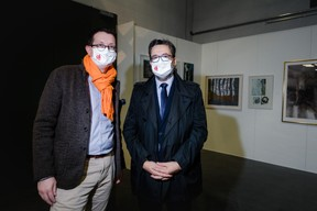 Maurice Bauer (Ville de Luxembourg) à gauche ((Photo: Nader Ghavami/Maison Moderne))