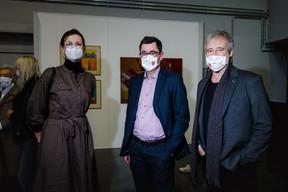 Guy Thewes (au centre) Lëtzebuerg Museum ((Photo: Nader Ghavami/Maison Moderne))
