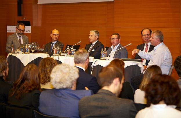La conférence  « entreprises et droits de l' H omme »  organisée ce mardi à la Chambre de commerce a permis d'annoncer le lancement d'un pacte national qui sera prochainement proposé aux entreprises . (Photo: UEL)