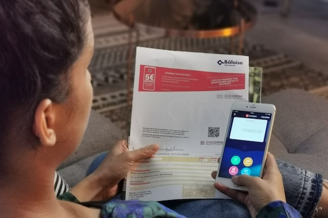 Le paiement mobile au service des assurances Photo : Digicash