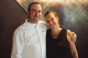Le chef Fernando Andreu et sa compagne Violant Tarrach. ((Photo: Sebastien Goossens |SG9))