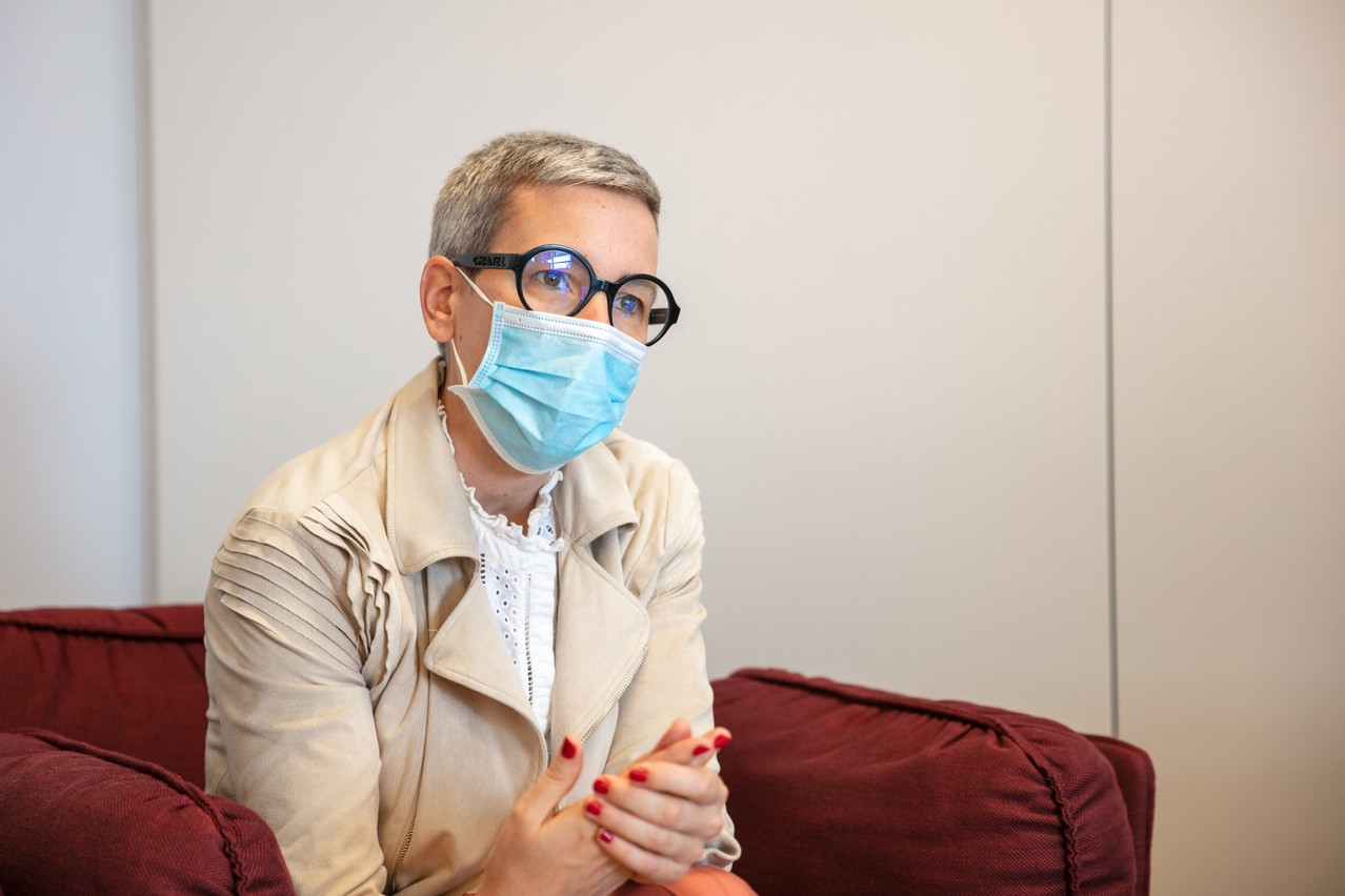 Justice minister Sam Tanson(déi Gréng) Photo: Romain Gamba / Maison Moderne