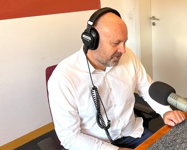 Duncan Roberts was the first guest on Ara City Radio for its new Delano's Top of the Week slot on Monday morning.  Maison Moderne