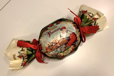 La version au chocolat de la maisonAmaretti Virginia: un panettone d'exception! (Photo: Thierry Labro)
