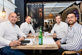 Johnny Marit (Board Belgium), Stéphane Compain (LuxRelo), Clarence Hammerschmidt (Bilia Emond) et Dimitri Potapenko (Dimitri Potapenko) ((Photo: Julian Pierrot / Maison Moderne))