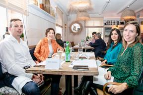 Yanniss Levron (Change Digital), Isabelle Weill (SC I&CW), Norma Bello Cortes (JES'tudio) et Marie-Laure Valmain (Michael Page) ((Photo: Julian Pierrot / Maison Moderne))
