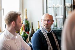 Tom Reinhard (Op der Gänn) et Thierry Manconi (Thierry Manconi) ((Photo: Julian Pierrot / Maison Moderne))
