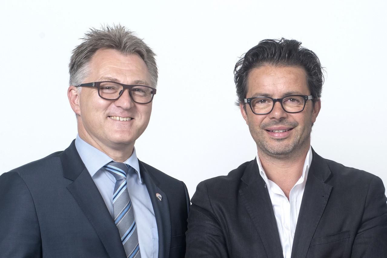 Romain Butgenbach et David Costa. (Photo: DR)