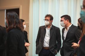 Guido Messerich et Christian M. Schneider (Schneider  IT Management) ((Photo: Marc Blasius, Léo Biewer/Maison Moderne))