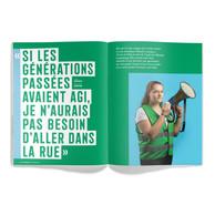 Interview de Natasha Lepage, Youth for Climate. ((Photo: Maison Moderne / Anthony Dehez))