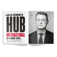 Interview d'Arnaud Jacquemin, CEO de Société Générale Bank & Trust Luxembourg. ((Photo: Maison Moderne / Anthony Dehez))
