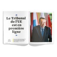 Interview de Marc Jaeger, juge au Tribunal de l'Union européenne. ((Photo: Maison Moderne / Edouard Olszewski))