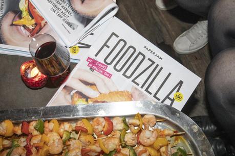 Le nouveau journal Paperjam Foodzilla a été dévoilé au public mardi soir. (Photo: Jan Hanrion/Maison Moderne)
