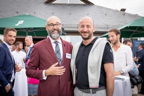 Georges Weyer (Loxo) et Mathieu Mathelin (Maison Moderne) ((Photo: Patricia Pitsch/Maison Moderne))
