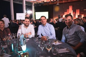Alex Donnersbach (CSJ), Jan Paffenholz (Banque de Luxembourg), Nicolas Hentgen (Haltra) ((Photo: Simon Verjus/Maison Moderne))