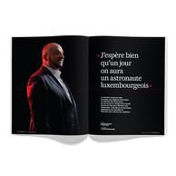 Interview d'Étienne Schneider, ministre de l'Économie. ((Photo: Jan Hanrion / Maison Moderne))