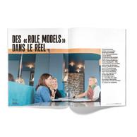Rencontre entre Stéphanie Damgé, Carole Mullet et Alexa Ballmann ((Photo: Jan Hanrion / Maison Moderne))