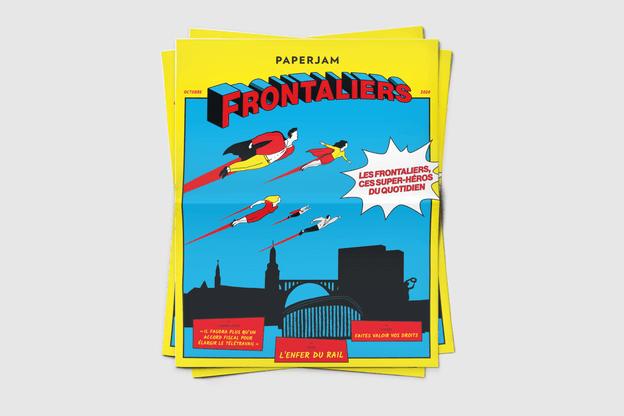 Paperjam Frontaliers, disponible en format journal, propose différents conseils pratiques pour s'intégrer ou mieux connaître le Luxembourg. (Photo: Maison Moderne)