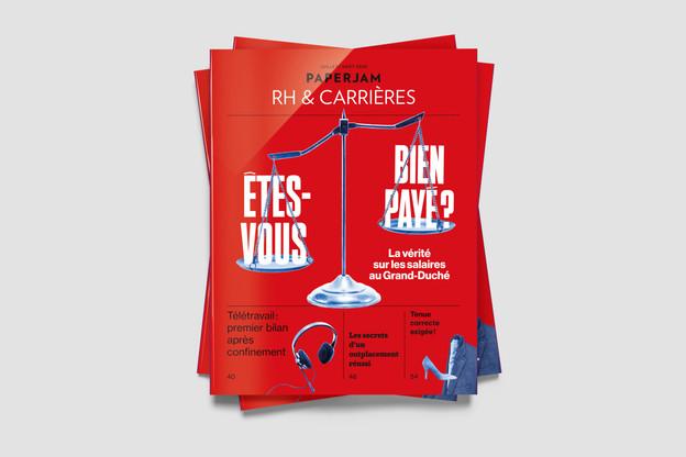 Paperjam supplément RH & Carrières (Photo: Maison Moderne)