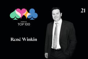 René Winkin, 21e du Paperjam Top 100 2020. ((Illustration: Maison Moderne))