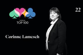Corinne Lamesch, 22e du Paperjam Top 100 2020. ((Illustration: Maison Moderne))