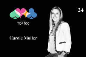 Carole Muller, 24e du Paperjam Top 100 2020. ((Illustration: Maison Moderne))