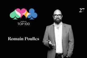 Romain Poulles, 27e du Paperjam Top 100 2020. ((Illustration: Maison Moderne))
