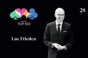 Luc Frieden, 28e du Paperjam Top 100 2020. ((Illustration: Maison Moderne))