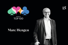 Marc Hengen, 15e du Paperjam Top 100 2020. ((Illustration: Maison Moderne))