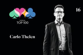 Carlo Thelen, 16e du Paperjam Top 100 2020. ((Illustration: Maison Moderne))