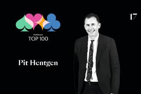 Pit Hentgen, 11e du Paperjam Top 100 2020. ((Illustration: Maison Moderne))